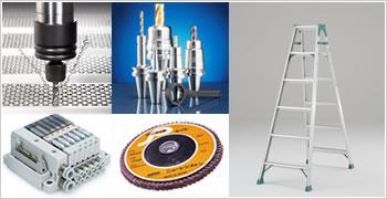 お客様の業務に最適な産業機器・工具を選定します