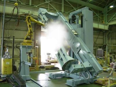 溶接ロボット・ポジショナー1