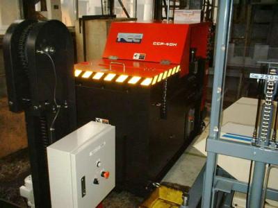 切粉圧縮機